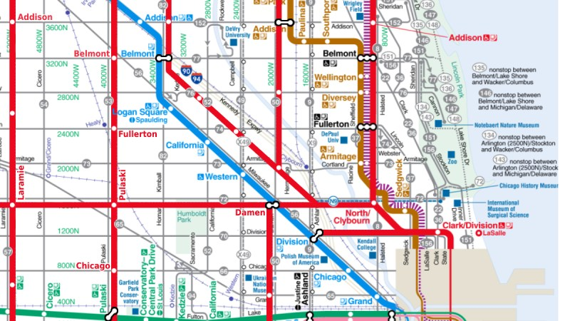 What if Chicago actually did have rapid transit everywhere?
