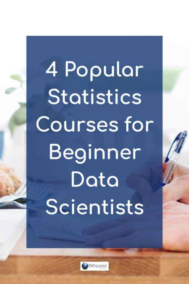 Looking for statistics courses to update your skills? Check out the 4 most popular statistics courses for Beginner Data Scientists. #statisticscourses #analytics #udemy