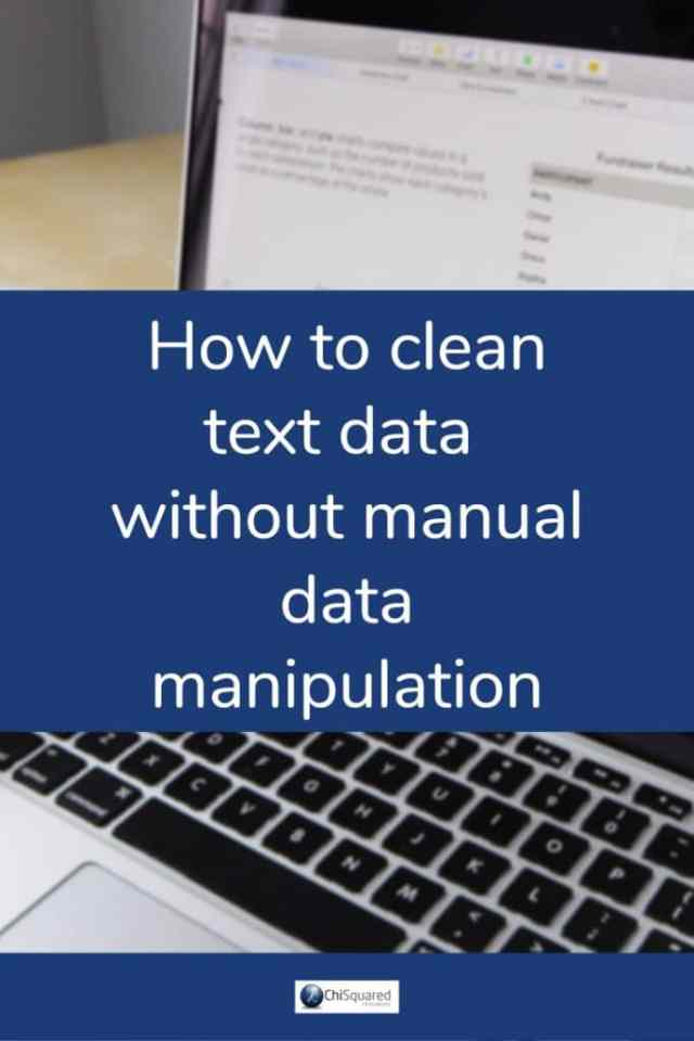 How to clean text data without manual data manipulation. #datips #exceltips #datacleaning