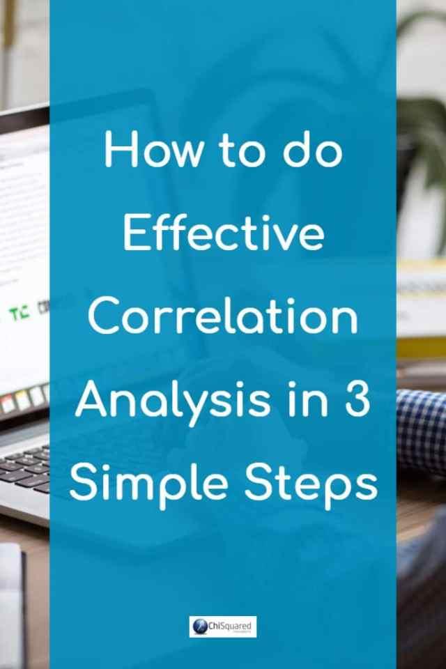 How to do effective correlation analysis in 3 simple steps. #correlations # statistics #dataanalysis