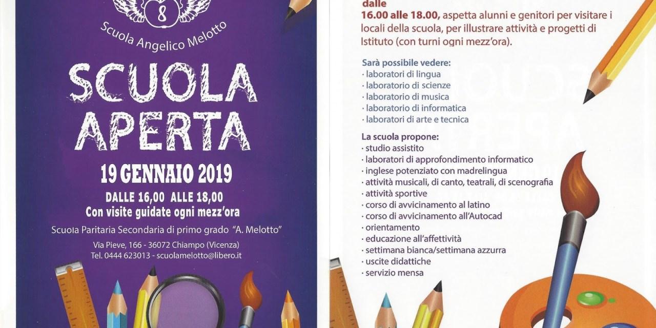 Porte aperte scuola Angelico Melotto