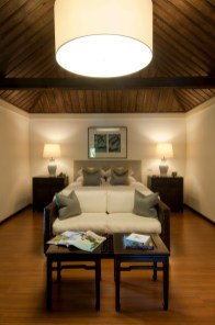 The master bedroom in suite at the Rachamankha