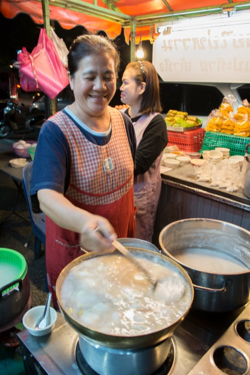 Bua Loi at Chang Puak Night Market