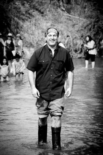 Simon Majumdar on the Extreme Chef shoot