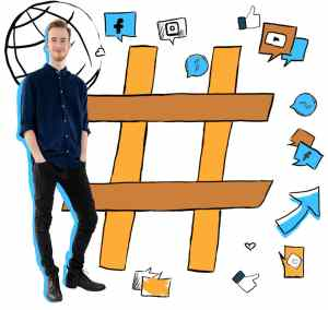 Web stránka a sociálne siete