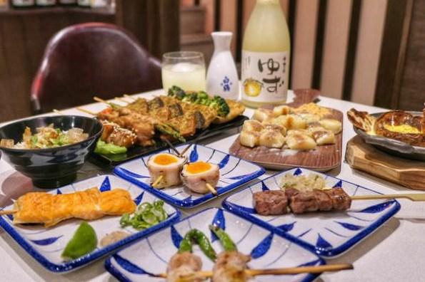 台中西區 燒鳥串道 美味又創意的日式串燒