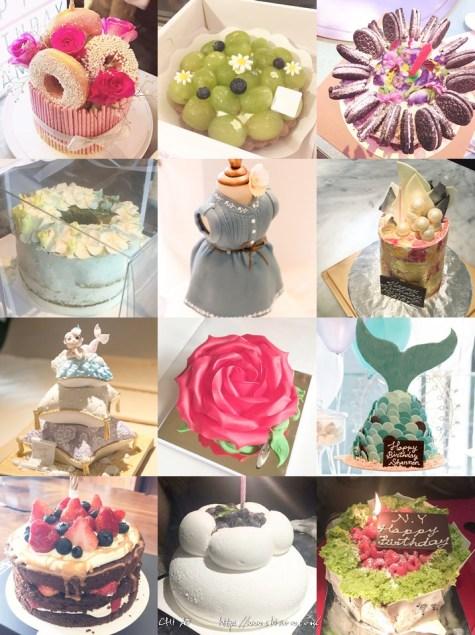 2016年度入魔精選20個生日蛋糕