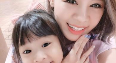 初體驗親子彩指_香香的e-nail水指甲,快乾易搽泡溫水就能整片撕下!