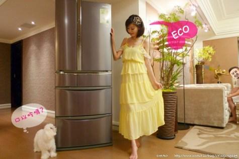 招待文。Panasonic聰明ECO電冰箱,時尚又貼心!