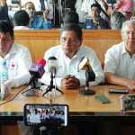 En conferencia de prensa representante de la Red Magisterial desmiente acusaciones