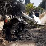 Choque aéreo de un helicóptero y una avioneta en Baleares: Mueren siete personas.