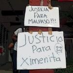 «Justicia para Ximena»: Marcha pacífica de ciudadanos en Chiapas
