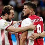Ajax gana goleando con Edson Álvarez de titular