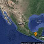 SSN reporta sismo en Motozintla, Chiapas