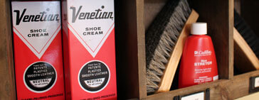 Shoe Care Products at Chiappetta Shoes