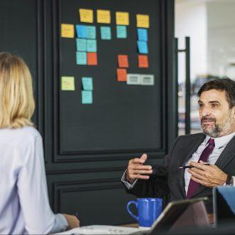 il colloquio come business meeting