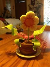 Tarta flor