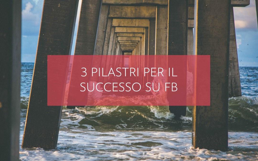 3 pilastri per il successo su Facebook
