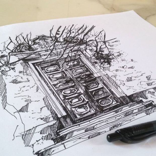 the sketch diary day 3