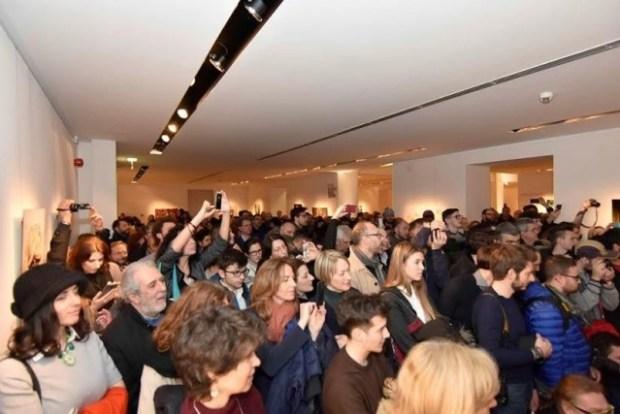 Inaugurazione mostra Senza Confini, photo credits ©Angelo Simonella