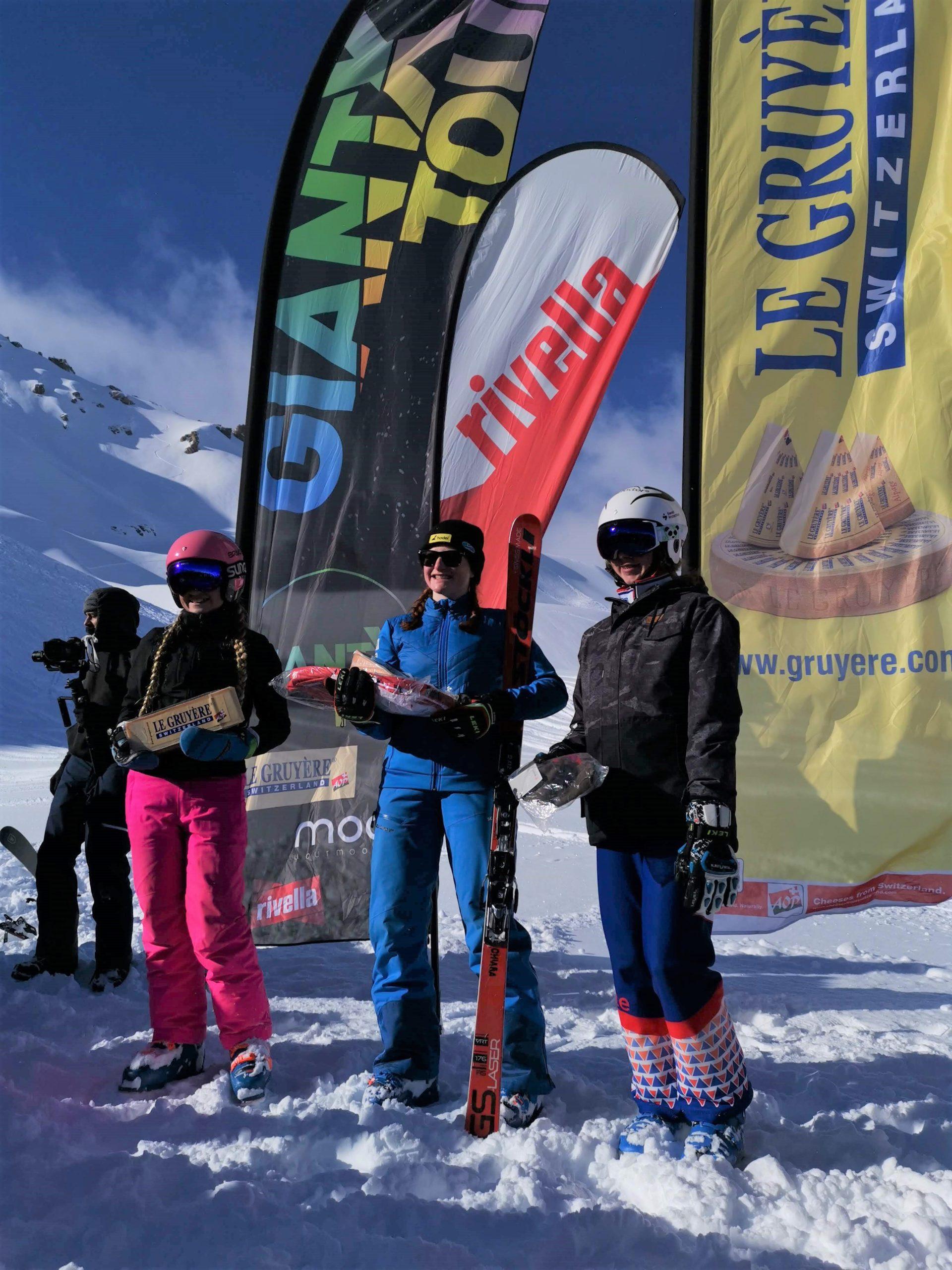 Chiara von Moos Skicross Grimentz 2020