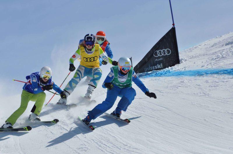 Sieg beim Audi Skicrossrennen auf der Melchsee-Frutt