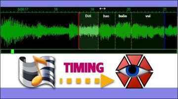 Làm Video Karaoke Effects kết hợp giữa Aegisub và Kara Title Maker 2