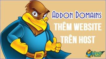 Thêm Domain và tạo mới Website WordPress trên Cpanel Hawk Host