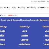chỉ từ 2.99$ bạn đã sở hữu tên miền tại GoDaddy
