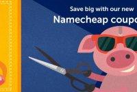 Coupon Namecheap tháng 4 giảm giá 40% hosting, giảm giá tên miền từ 0.88$