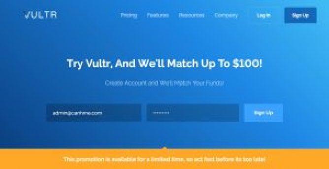 Vultr coupon tháng 5