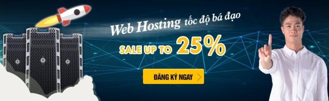 Z.com giảm 25% Web Hosting