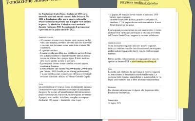 Premio Studer/Ganz e Svizzera italiana