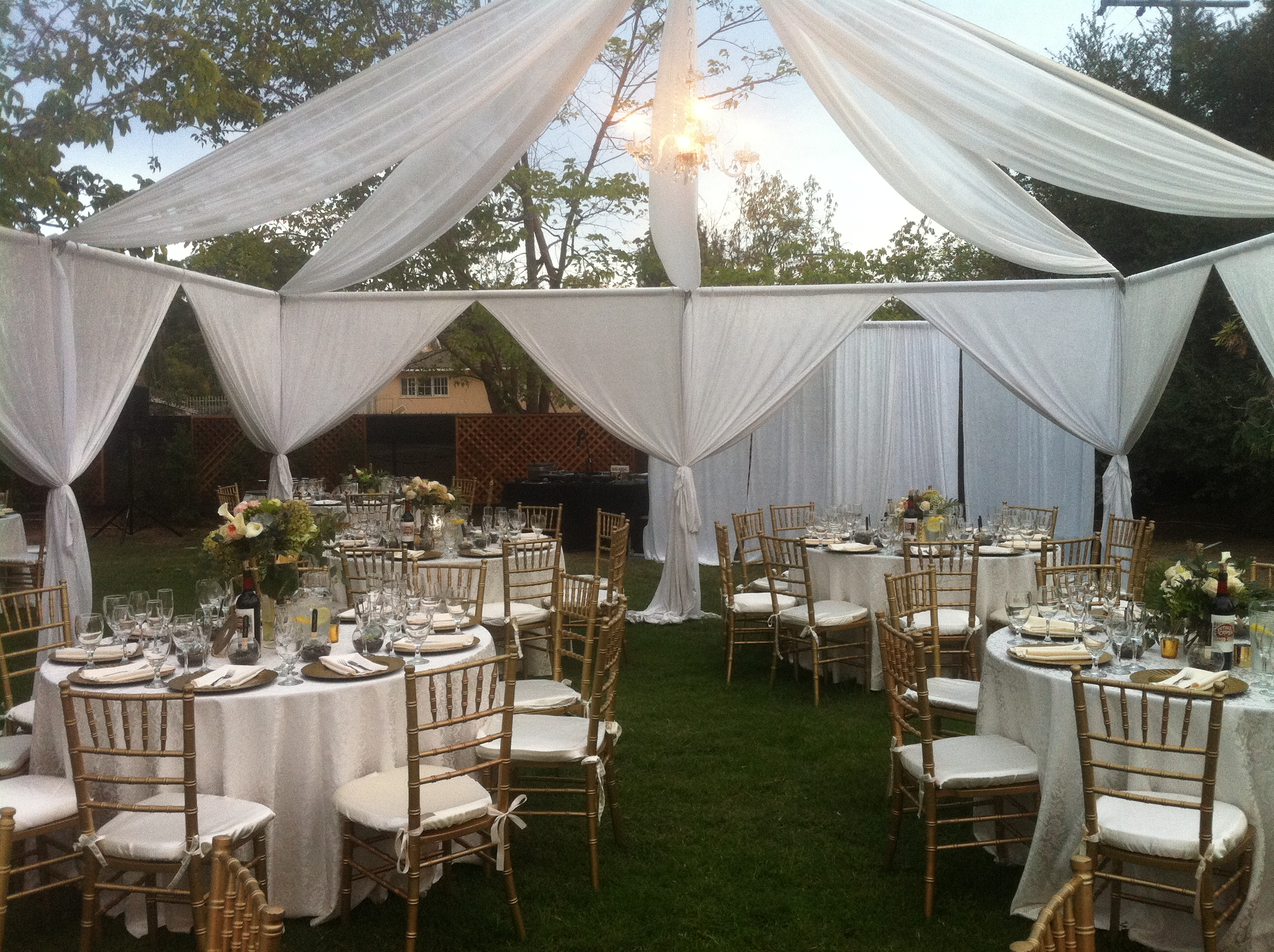 Tent And Chair Rental Wedding Rental San Dieg0o La Jolla Chiavari Chair