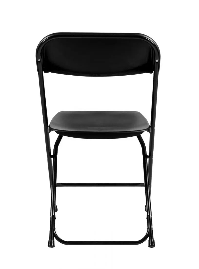 Black Plastic Folding Chair Poly Chair  The Chiavari