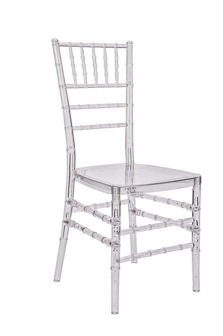 Clear Resin ProClear Chiavari Chair  The Chiavari