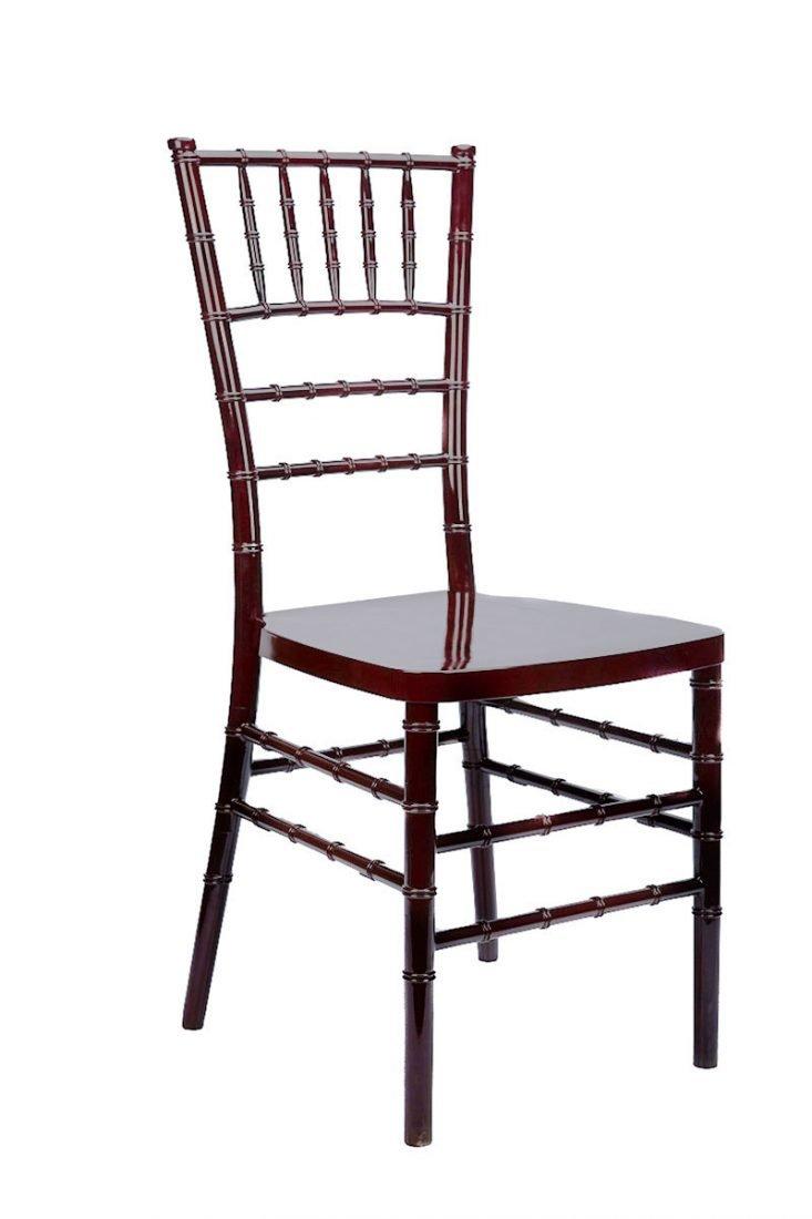 Mahogany Resin Inner SteelCore Chiavari Chair  The