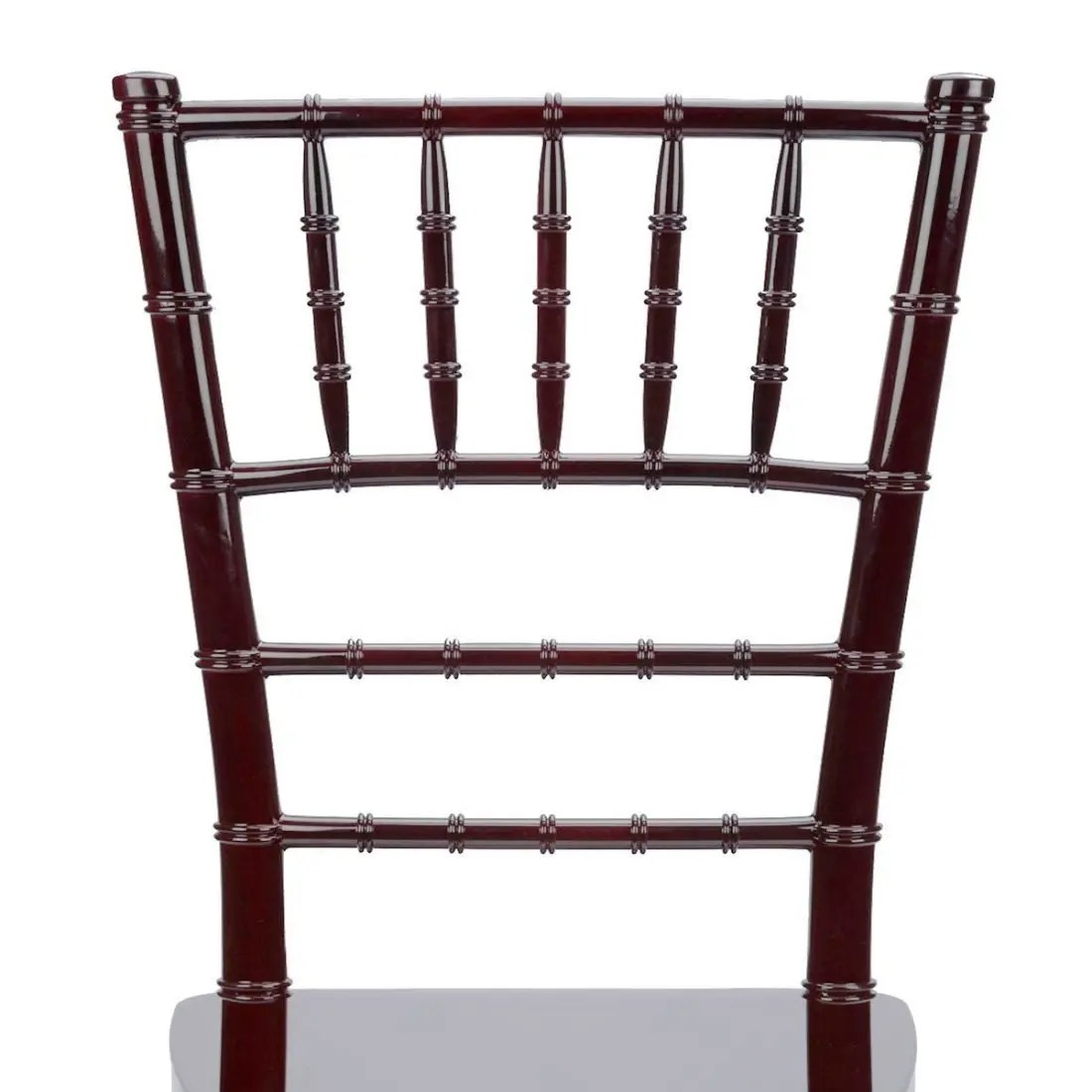 Chiavari Chairs Mahogany Resin Quotinner Steel Core Quot Chiavari Chair The