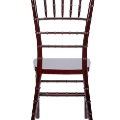 Plastic Chiavari Chairs Swivel Chair Millberget Review Mahogany Resin