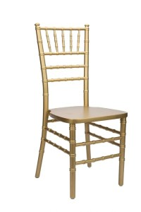 "Gold Wood Stacking ""ANSI BIFMA Certified"" Chiavari Chair ..."