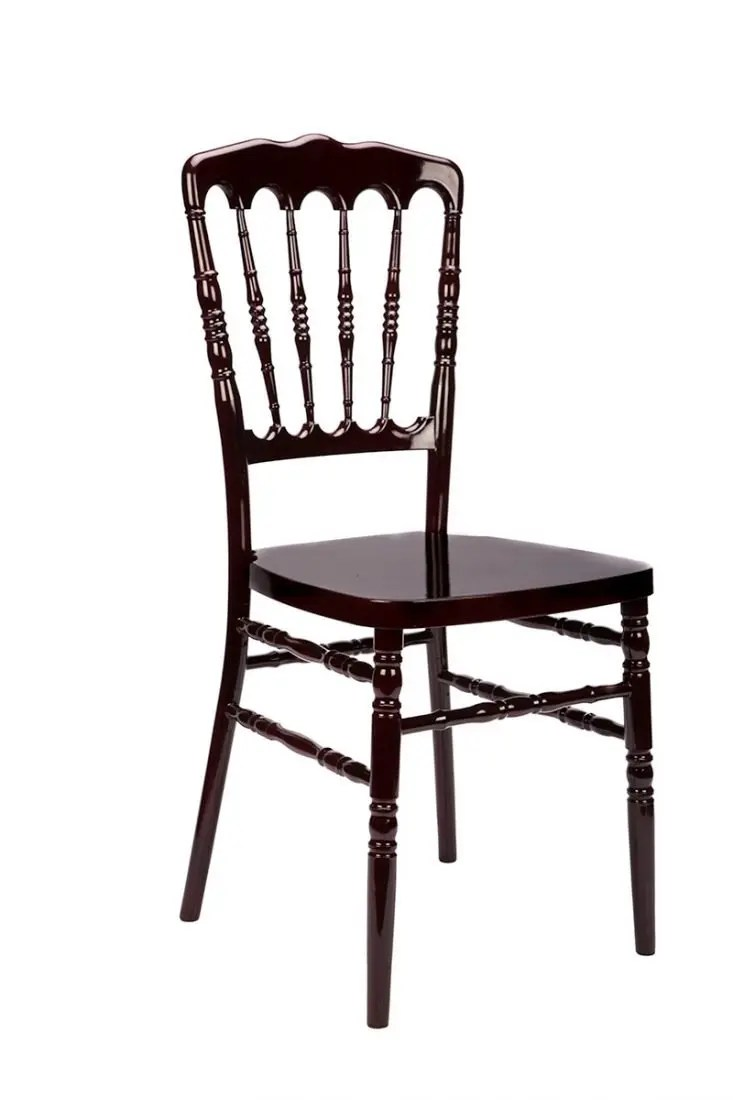 Mahogany Resin Inner SteelCore Napoleon Chair  The
