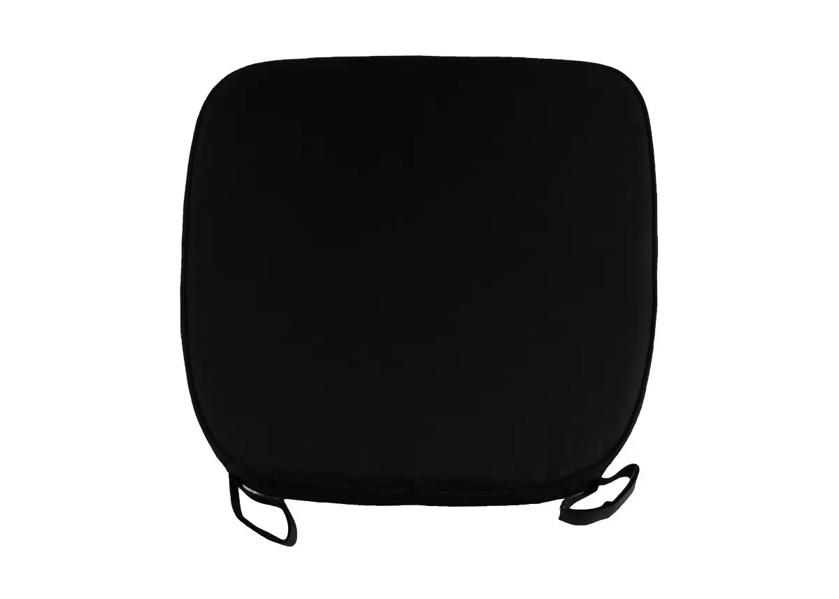 black chair pads small kitchen table and chairs set extra thick chiavari cushion
