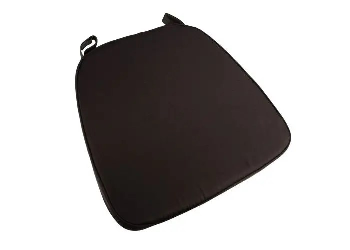 cushions for ghost chairs maternity nursing chair brown extra thick chiavari cushion  