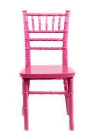 Pink Wood Children's Chiavari Chair - The Chiavari Chair ...
