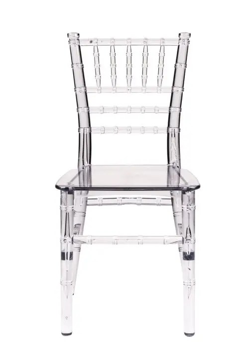plastic chiavari chair fixing patio chairs clear resin children s the company