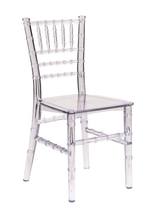 Clear Resin Childrens Chiavari Chair  The Chiavari Chair