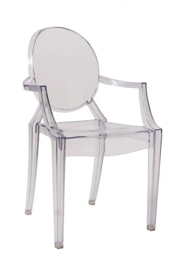 Plastic Clear Chair Clear Resin