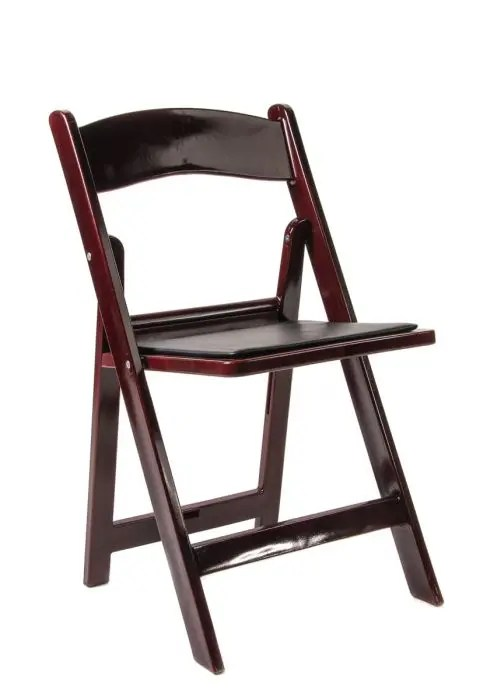 black resin chairs small dining room table and mahogany folding chair with vinyl padded seat - the chiavari company