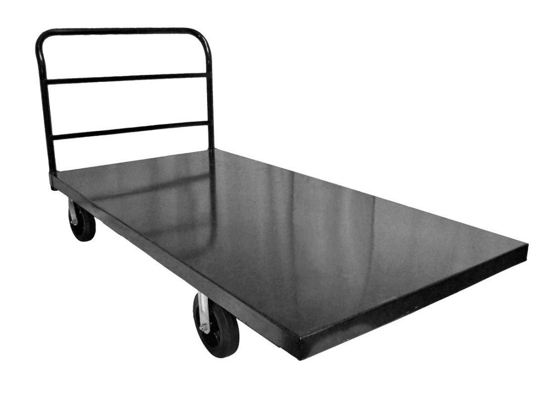 steel chair accessories grey desk metal flat bed cart the chiavari company