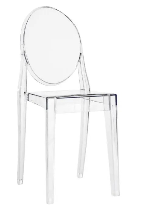 victoria ghost chair swivel vw t5 resin the chiavari company clear without arms